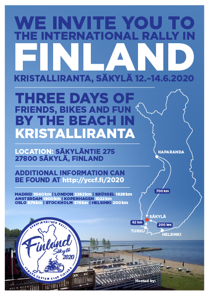 Finland International Rally 2020 @ Kristalliranta