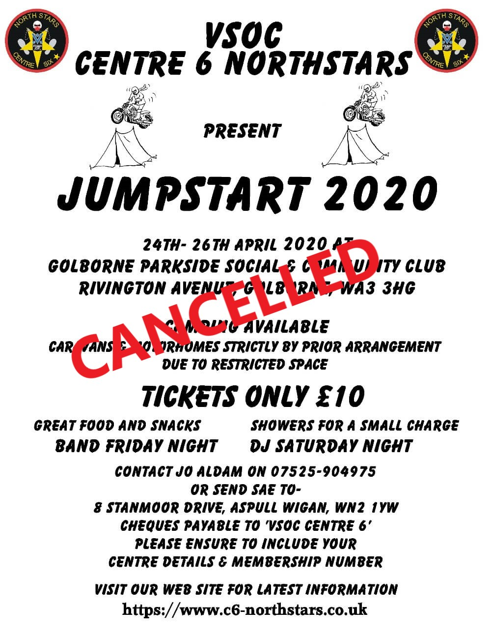 CANCELLED - JUMPSTART 2020 @ Golborne Parkside Sports and Community Club